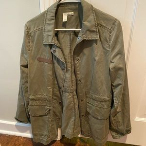 Light weight army green jacket